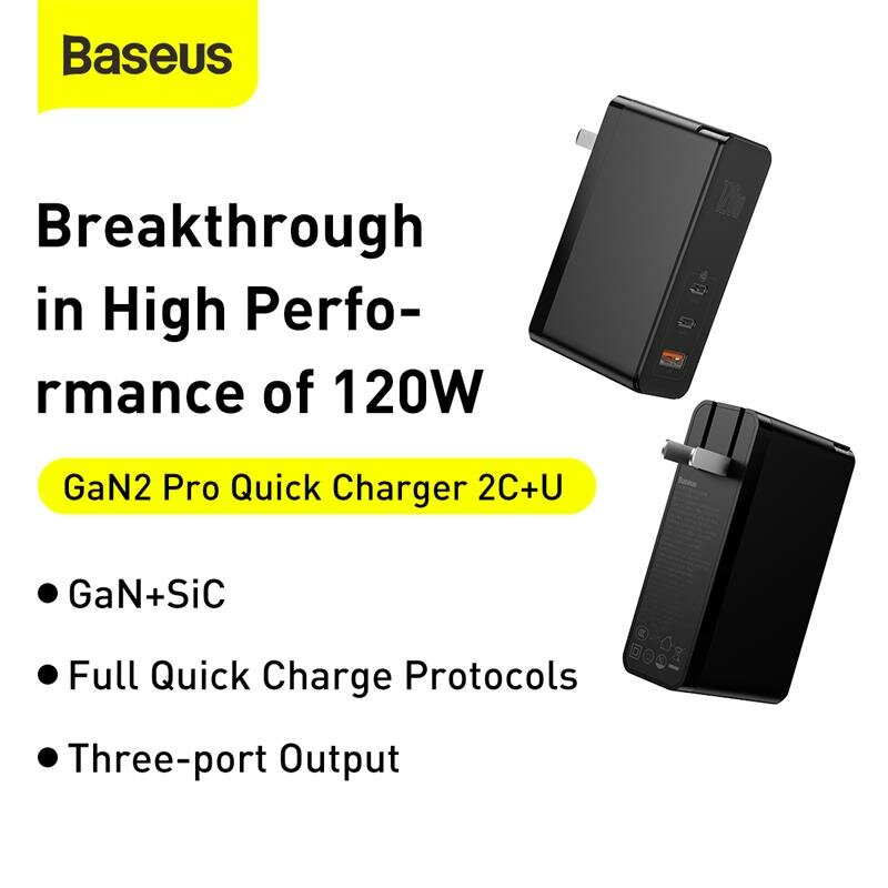 BlitzWolf® BW-S16 75W 6-Port USB PD Charger Desktop Charging Station AU Plug Adapter With Baseus 100W 5A Zinc Magnetic USB-C to USB-C PD3.0 Cable For iPhone 11 SE 2020 For iPad Pro 2020 MacBook Air 2020 For Samsung Galaxy S20 - 2