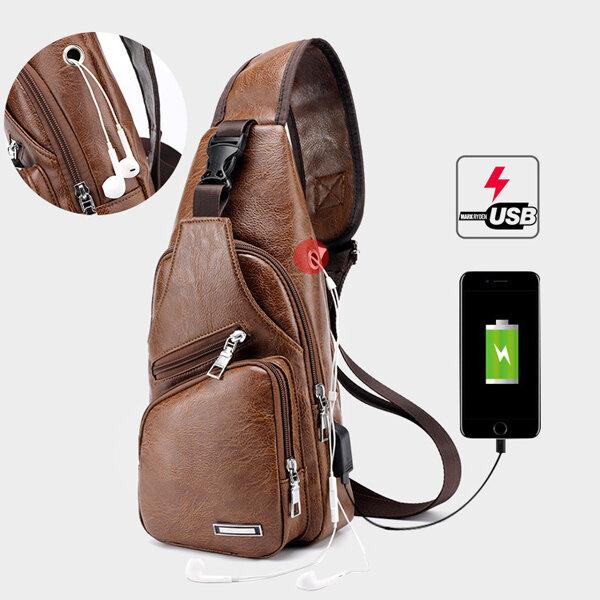 Men Multifunction Tactical Backpack Casual Sling Crossbody Bag Shoulder Bag Chest Bag For Outdoor - 1
