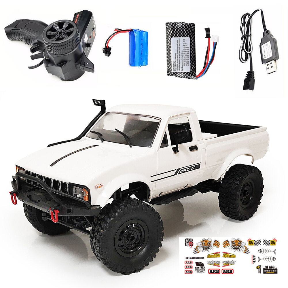 XIAOMI XMYKC01CM Intelligent 1:16 Proportional 4 Wheel Drive Rock Crawler Controller App RC Car Vehicles Model - 7