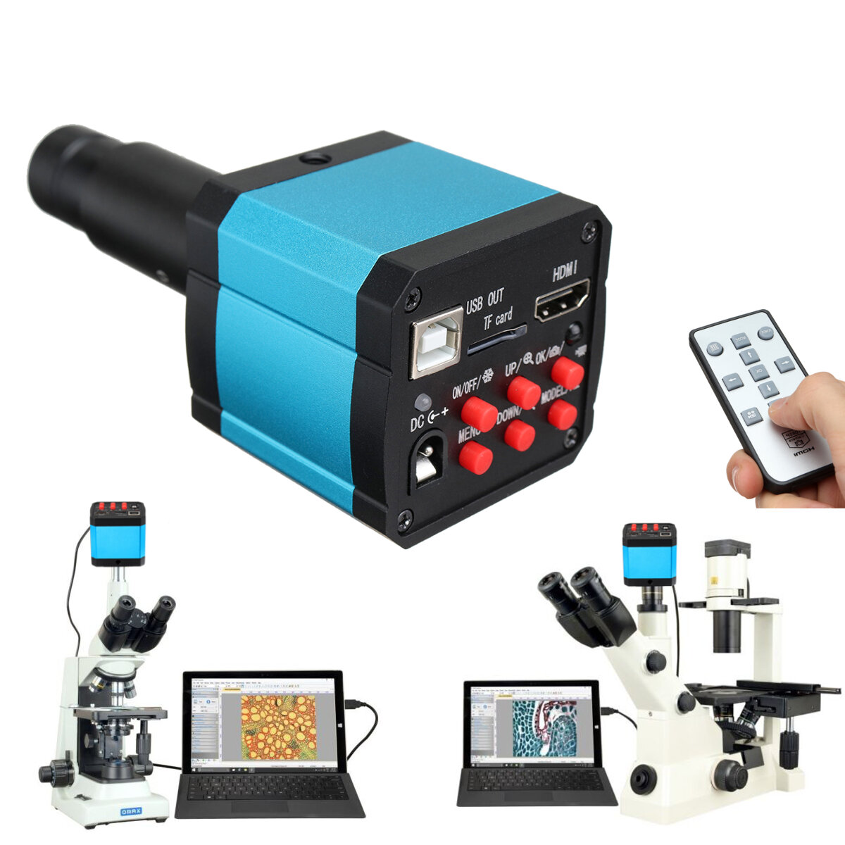 G600 Digital 1-600X 3.6MP 4.3inch HD LCD Display Microscope Continuous Magnifier Upgrade Version - 1