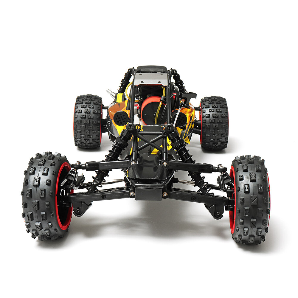 WLtoys 12427 2.4G 1/12 4WD Crawler RC Car With LED Light - 4