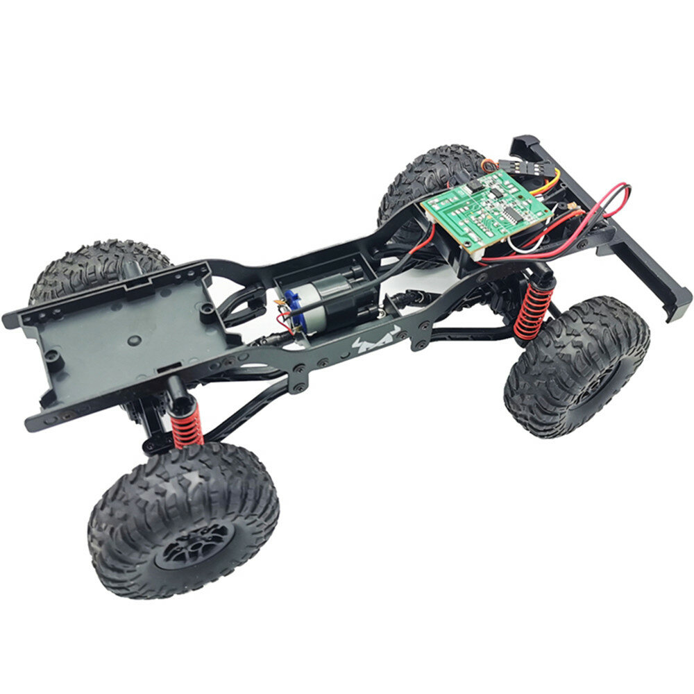 Wltoys 144001 1/14 2.4G 4WD High Speed Racing RC Car Vehicle Models 60km/h Two Battery 7.4V 2600mAh - 3