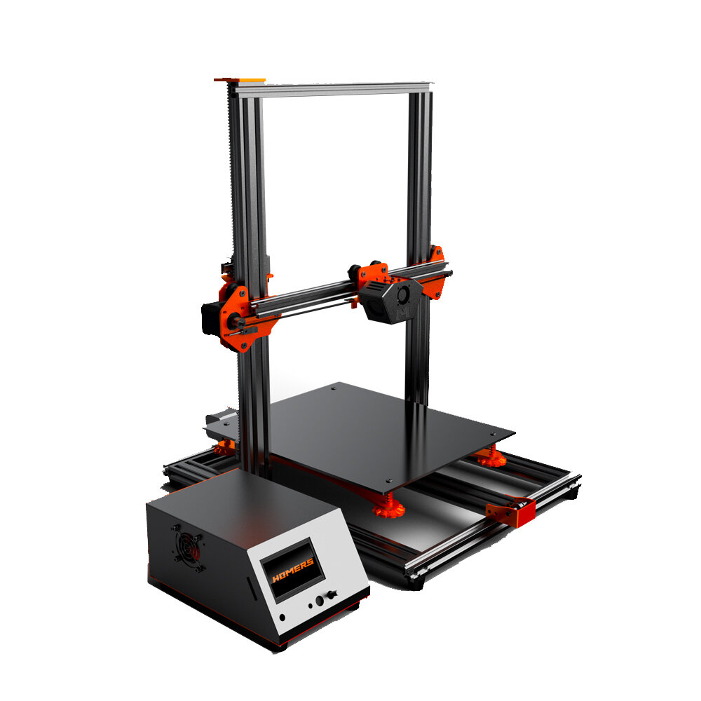 TWO TREES® Sapphire Pro CoreXY DIY 3D Printer Kit 235*235*235mm Printing Size With Dual Drive BMG Extruder/X-axis&Y-axis Linear Guide/Power Resume/Filament Detect/Intelligent Leveling Funciton - 4