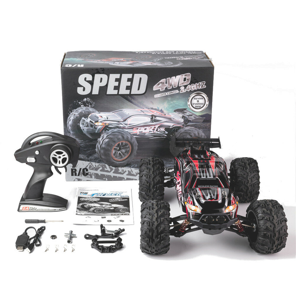 Wltoys 144001 1/14 2.4G 4WD High Speed Racing RC Car Vehicle Models 60km/h - 4