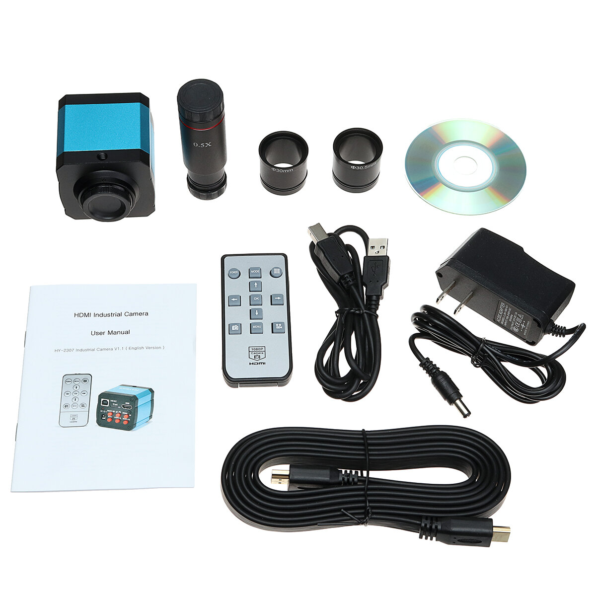 G600 Digital 1-600X 3.6MP 4.3inch HD LCD Display Microscope Continuous Magnifier Upgrade Version - 2
