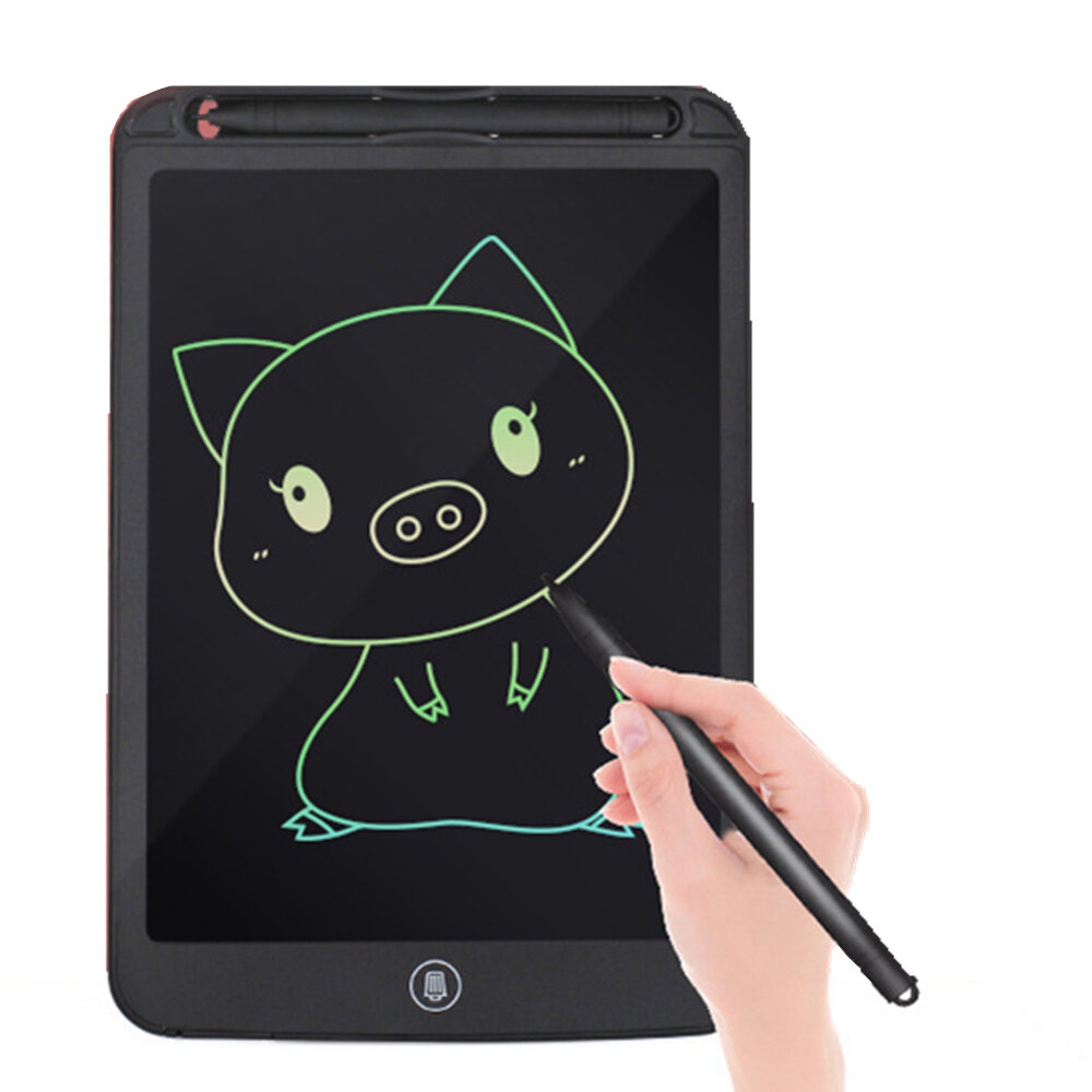 A5 Color LCD Screen 12 inch Writing Tablet Drawing Notepad Electronic Handwriting Painting Office Memo Waterproof Lock Key One click Eraser Toys Gift - 3