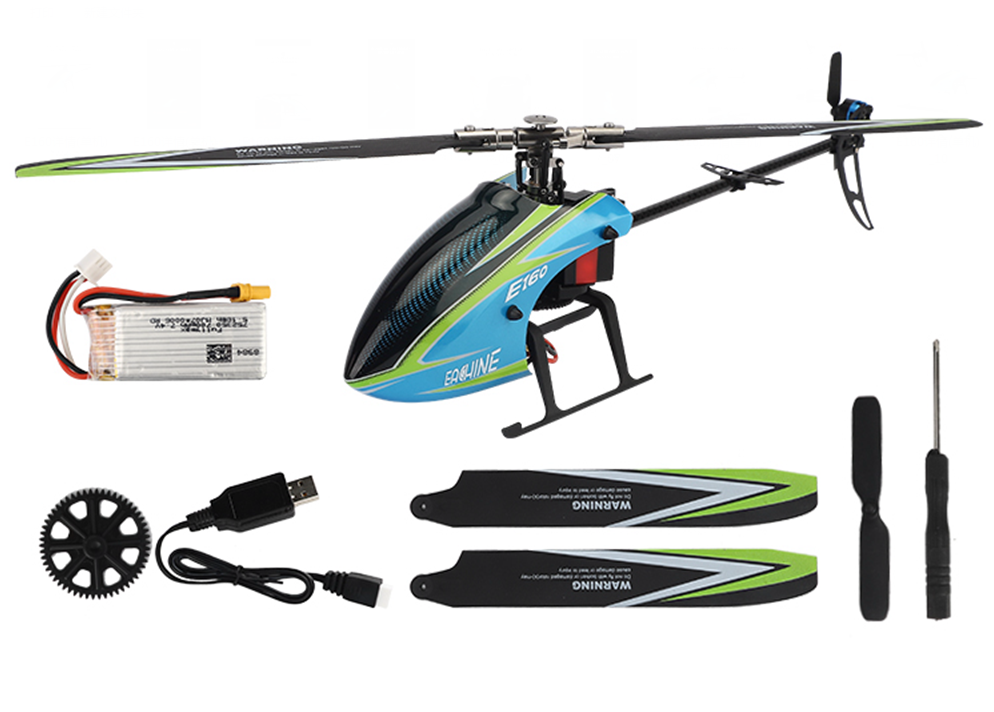 XK K110 Blast 6CH Brushless 3D6G System RC Helicopter BNF - 10