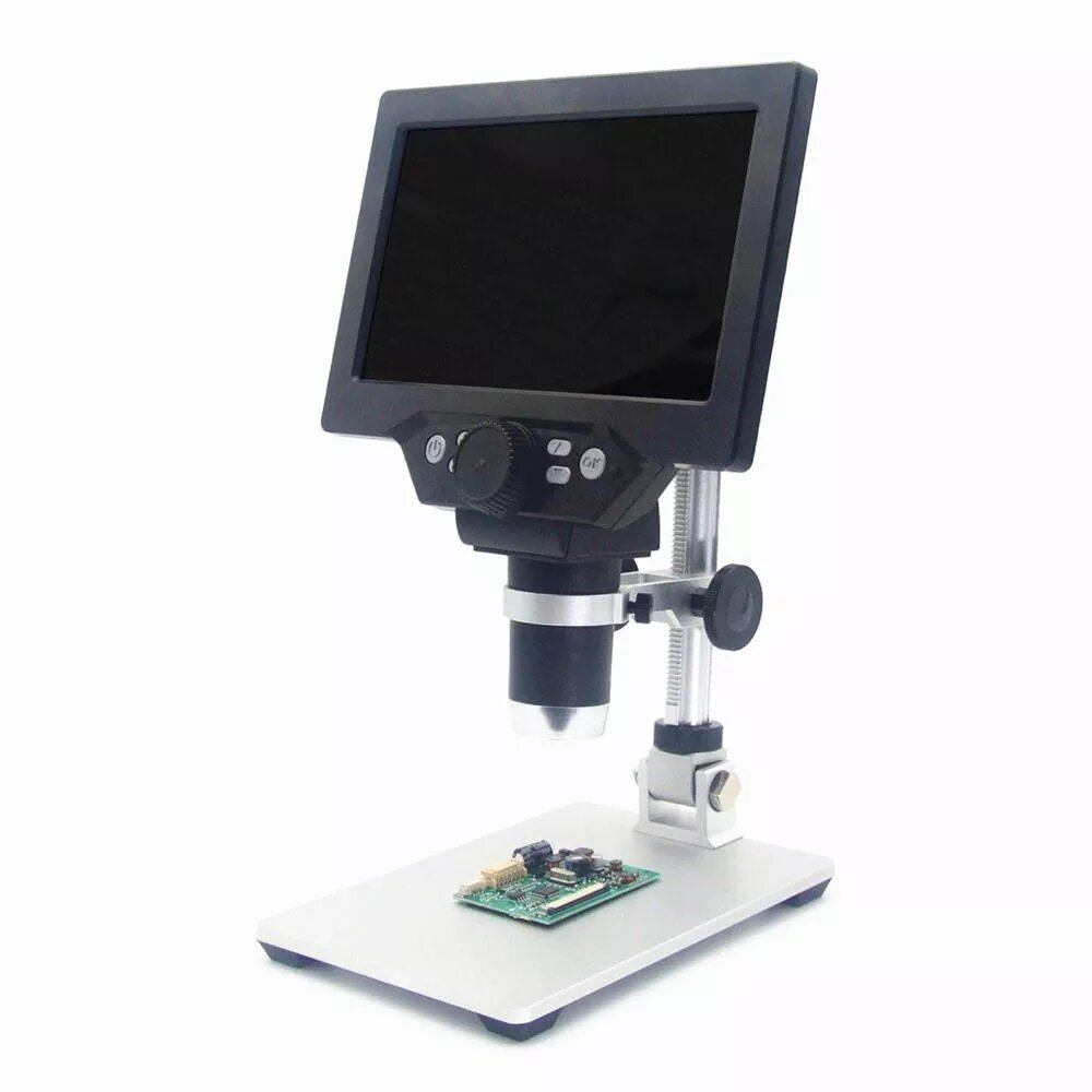 Mustool® G600 Digital Portable 1-600X 3.6MP Microscope Continuous Magnifier with 4.3inch HD LCD Display - 5