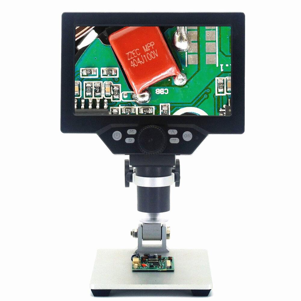 Andonstar AD106S Digital Microscope 4.3 Inch 1080P With HD Sensor USB Microscope For Phone Repair Soldering Tool Jewelry Appraisal Biologic Use Kids Gift - 4