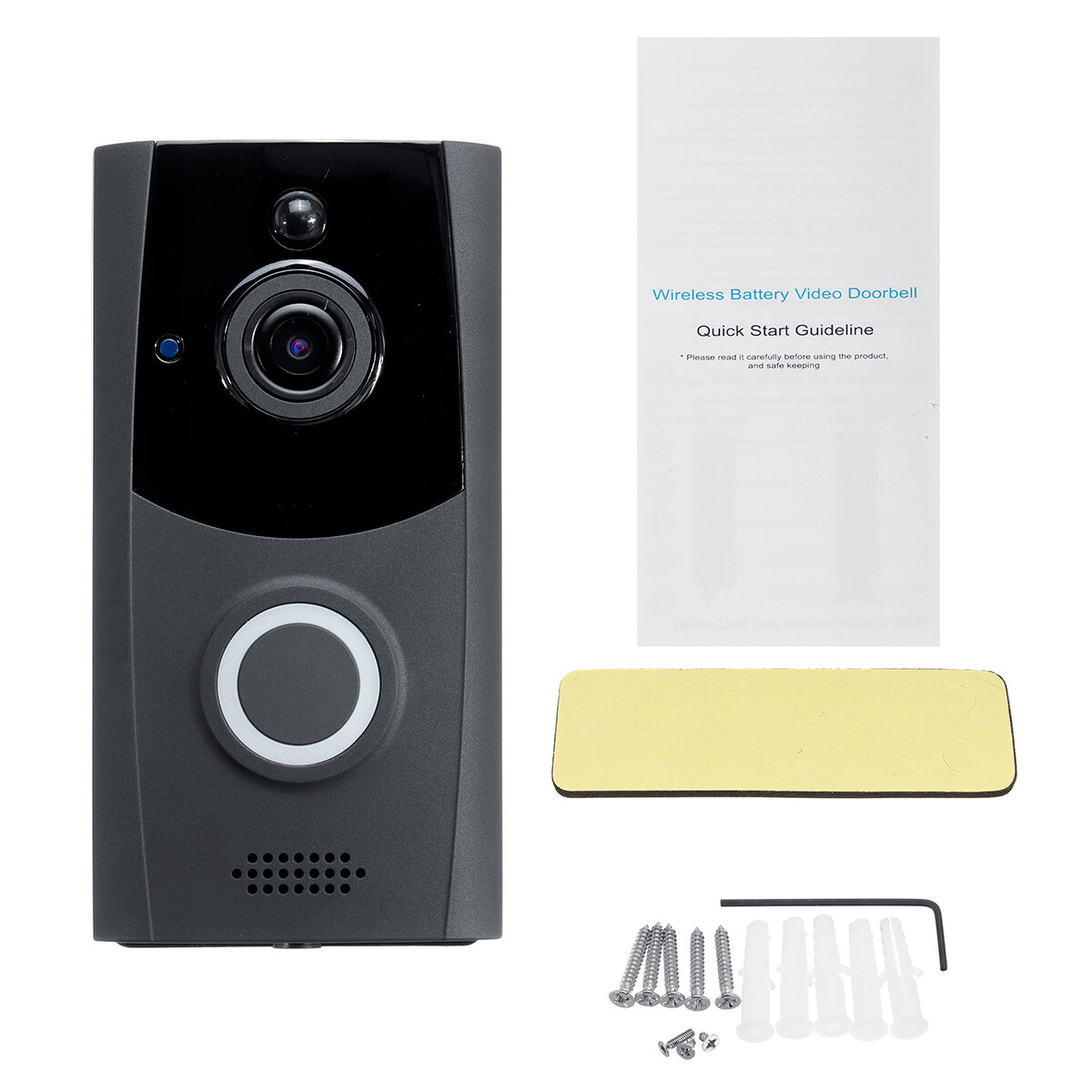 2.8 inch LCD Digital Peephole Viewer Security Video Doorbell Camera Monitor Night Vision - 1