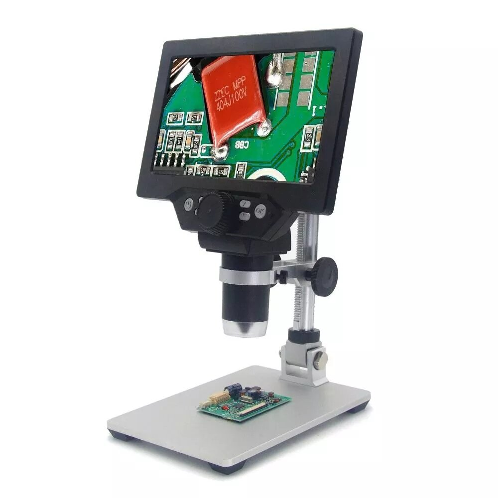Mustool® G600 Digital Portable 1-600X 3.6MP Microscope Continuous Magnifier with 4.3inch HD LCD Display - 1