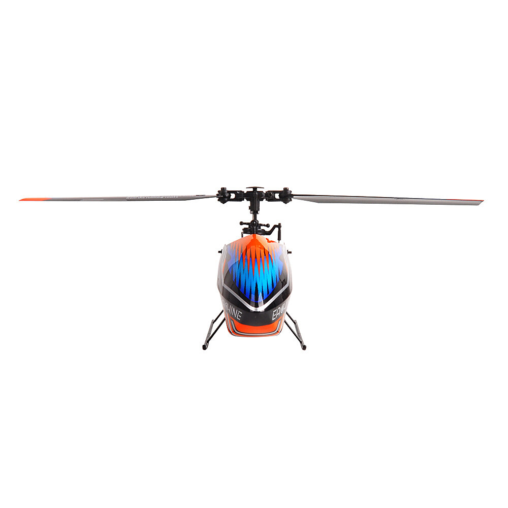XK K124 2.4G 6CH Brushless EC145 3D6G System RC Helicopter 4PCS 3.7V 700mAh Lipo Battery Version Compatible With FUTAB-A S-FHSS - 3