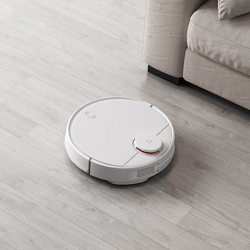 BlitzWolf® BW-VC2 Smart Robot Vacuum Cleaner with 380mL Dust & 100mL Water Tank, 2200Pa Strong Suction, Works with Alexa, 360°Laser Radar, 9 Sensors and APP Control - 1
