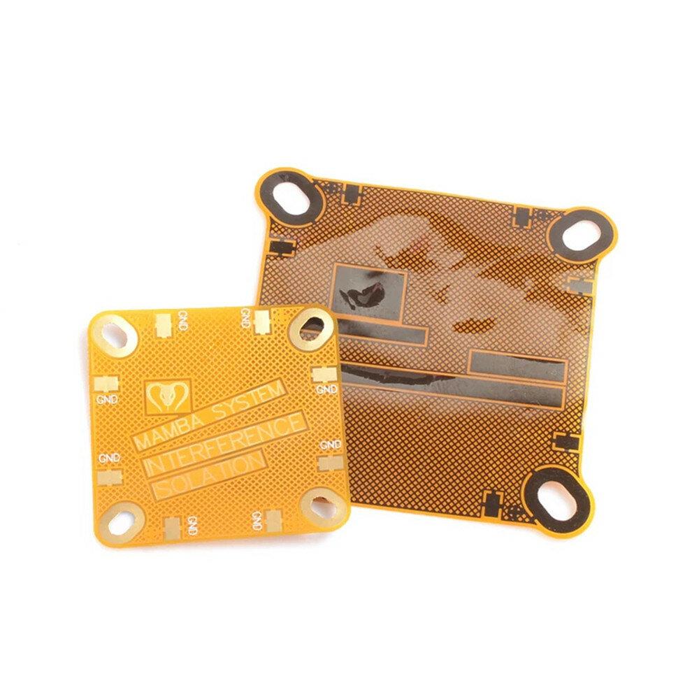 Scheda PC FPC schermante interferenze Mamba 2 20x20mm e 30.5x30.5mm per RC Drone FPV Racing - 1