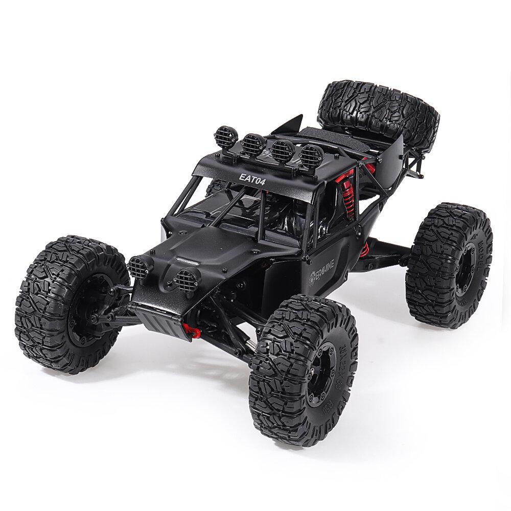 WLtoys 12427 2.4G 1/12 4WD Crawler RC Car With LED Light - 1