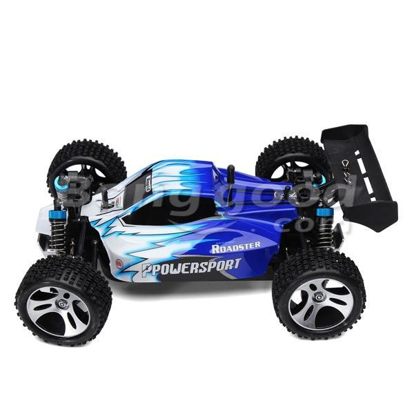 Eachine EAT04 1/12 2.4G 4WD Brush Rc Car Metal Body Shell Desert Off-road Truck RTR Toy Black - 5