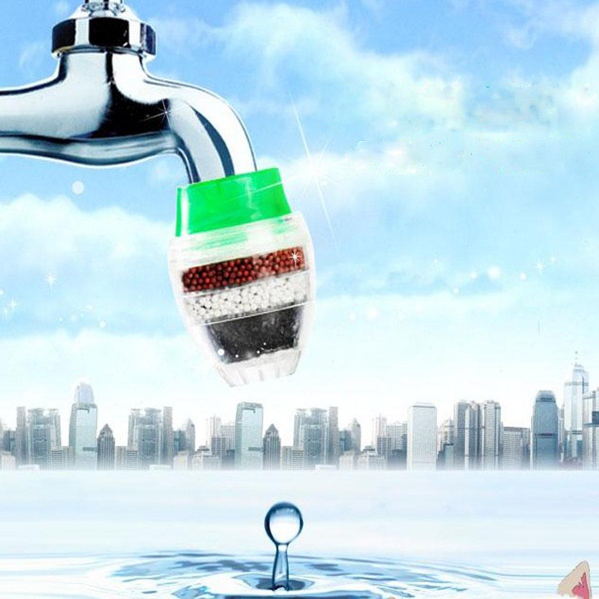Kitchen Carbon Faucet Tap Water Clean Purifier Filter Cartridge