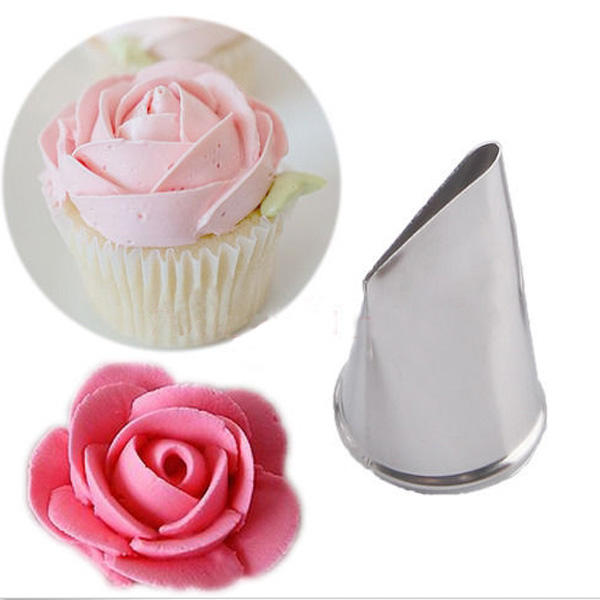Honana CF-PT01 6Pcs Flower Shape Icing Piping Nozzles With Adaptor 3 Cream Bag Cake Decorating Tools - 1