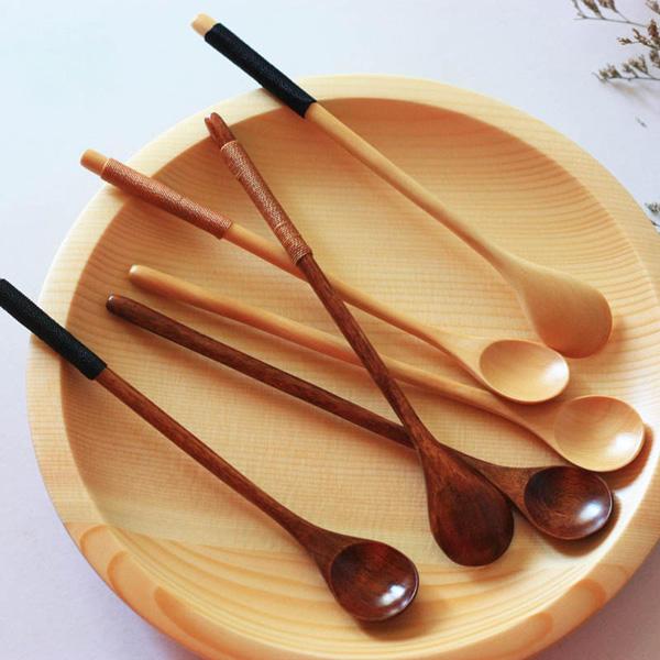Borosilicate Transparent Glass Coffee Scoop Sugar Spoon Coffee Spoon Stirring Tools - 1