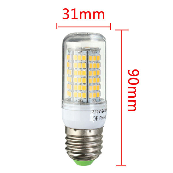ARILUX® E27 E14 B22 GU10 G9 5W SMD5730 Constant Current Smart IC 89LEDs Corn Light Bulb AC220V - 9