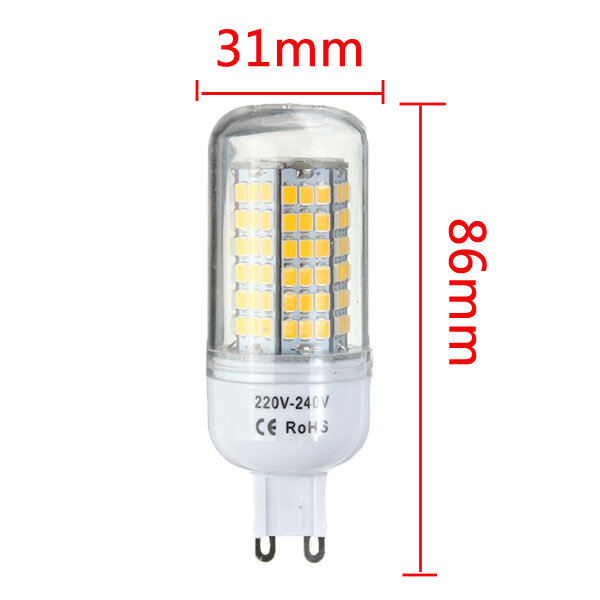 ARILUX® E27 E14 B22 GU10 G9 5W SMD5730 Constant Current Smart IC 89LEDs Corn Light Bulb AC220V - 6