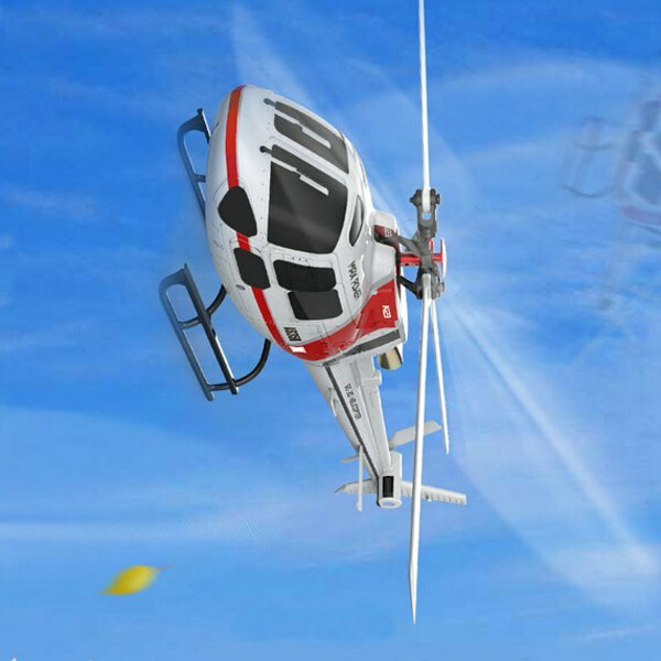 Eachine E119 2.4G 4CH 6-Axis Gyro Flybarless RC Helicopter RTF 3pcs 4pcs Batteries Version - 5