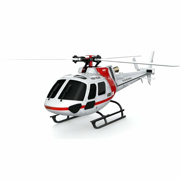 Eachine E119 2.4G 4CH 6-Axis Gyro Flybarless RC Helicopter RTF 3pcs 4pcs Batteries Version - 1