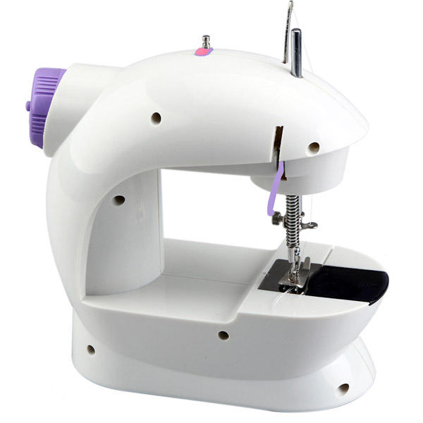 Portable Home Handwork Electric Mini Sewing Machine With Led Light - 2