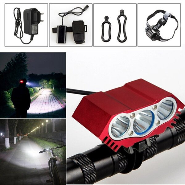 JETBeam HR30 950LM Headlamp SST40 N5 LED Flashlight with USB Cable by 1*18650 Battery - 9
