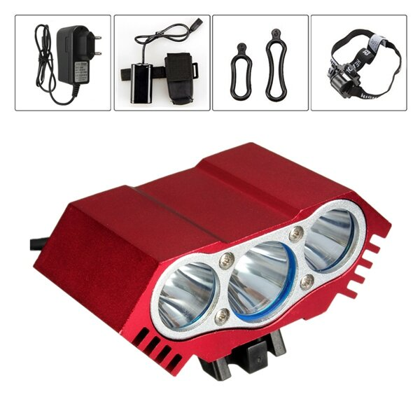JETBeam HR30 950LM Headlamp SST40 N5 LED Flashlight with USB Cable by 1*18650 Battery - 2