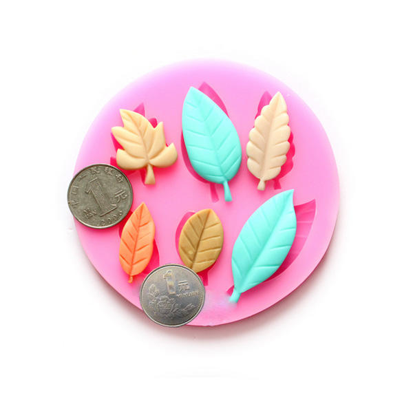 DIY Leaves Chocolate Mold Resin Flower Fondant Cake Decorating Mold, Banggood  - buy with discount