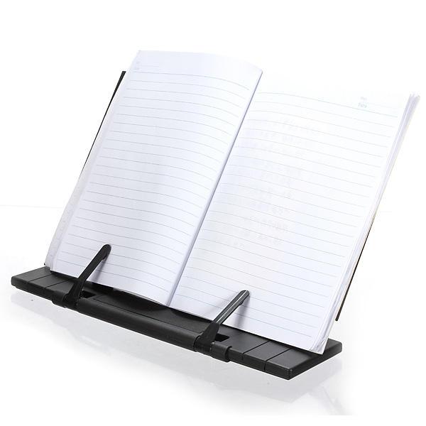 Black  Adjustable Portable Reading Book Stand Holder