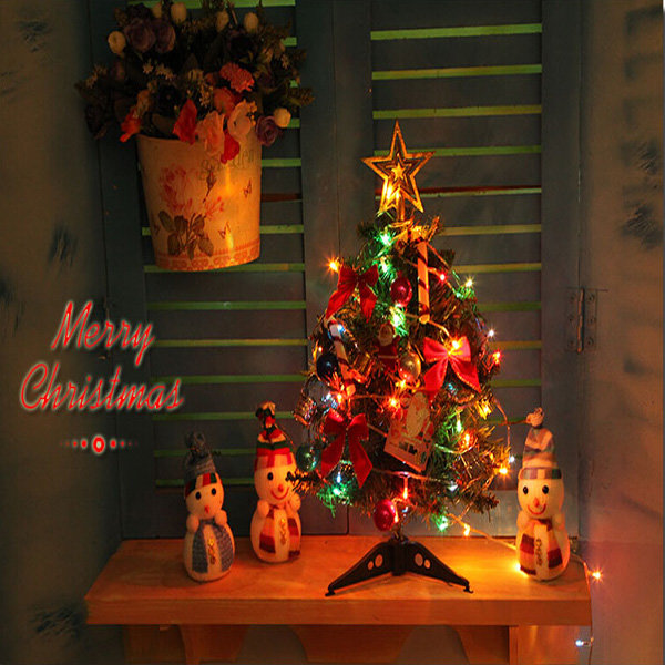 40cm Luxury Mini Christmas Tree With Lights Desktop Decoration