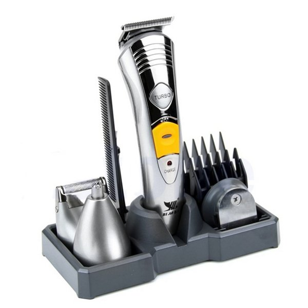 KM 580A Rechargeable Hair Grooming Trimmer Clipper Bear Ear Razor Shaver Kit