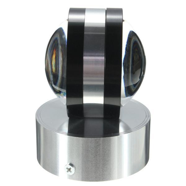 Moderne Aluminium 2W LED Wandlampen Licht Kristall Kugel Form Innenraum für Beleuchtung - 6