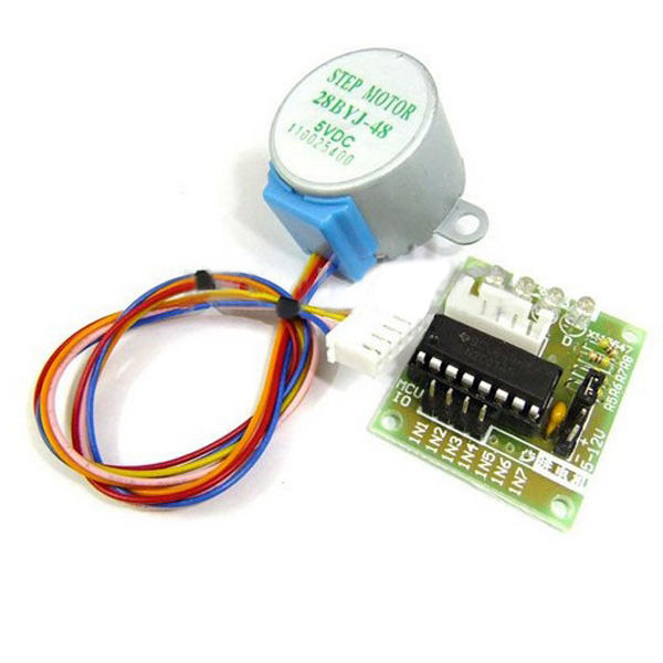 10Pcs DC 5V 4 Phase 5 Wire Stepper Motor With ULN2003 Driver Board