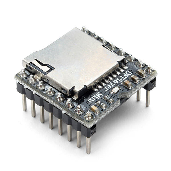 3Pcs Geekcreit® DFPlayer Mini MP3 Player Module MP3 Voice Audio Decoder Board For Arduino Supporting TF Card U-Disk IO/Serial Port/AD