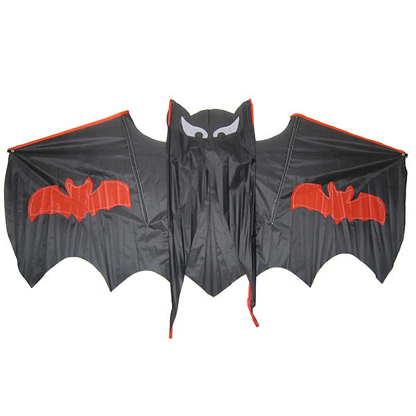 Cool Black Bat Flying Kite Outdoor Entertainment Toy Gift for kid - 1