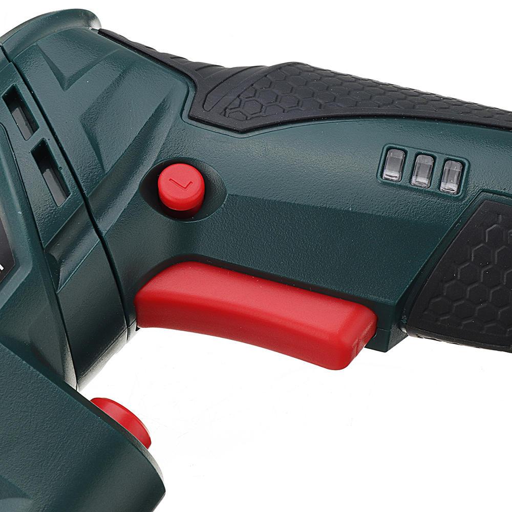 12V Electric Cordless Drill Chuck 2 Speed Screwdriver Hammer LED Light 1500mAh - 11