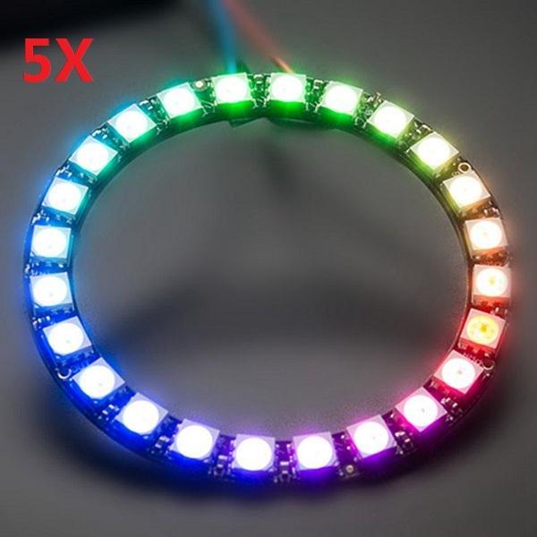 5Pcs CJMCU 24 Bit WS2812 5050 RGB LED Driver Development Board