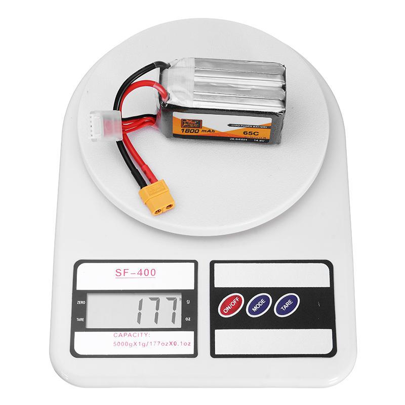 4 Stks ZOP Power 14.8 V 1800 mAh 65C 4S Lipo Batterij XT60 Plug Voor PFV Racing Drone - 9