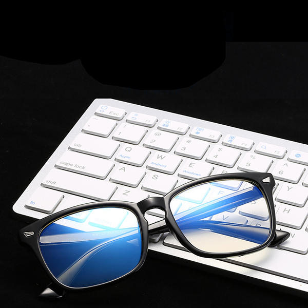 विरोधी थकान कंप्यूटर मिरर चश्मा विकिरण संरक्षण ब्लू लाइट अवरुद्ध चश्मा पुरुष महिला