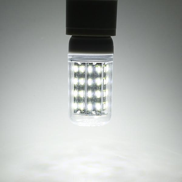 E27 E14 E12E E17 B22 15W 130 SMD 5736 LED Pure White Warm White Cover Corn Bulb AC85-265V - 2