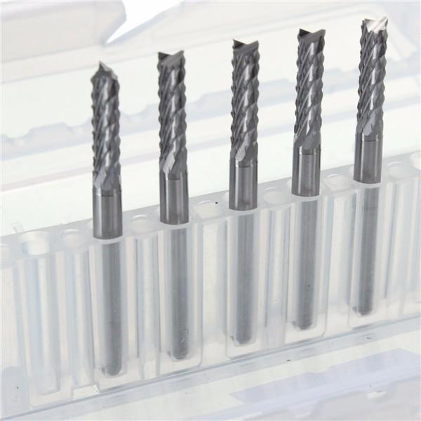 5PCS 3mm Micro CNC/PCB Carbide Drill Bit 3 175mm Shank Tungsten Steel  Cutter For Engraving Machine