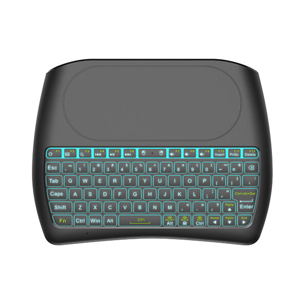 Mini I8 D8-S Silk screen Version wireless 2.4GHz keyboard