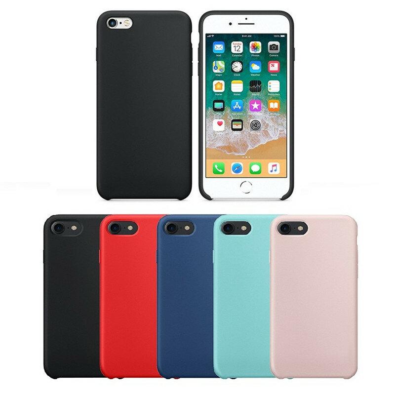 Bakeey Liquid Silicone Soft Case Microfiber Cushion Phone Case Back Case for iPhone 6 Plus/6s Plus