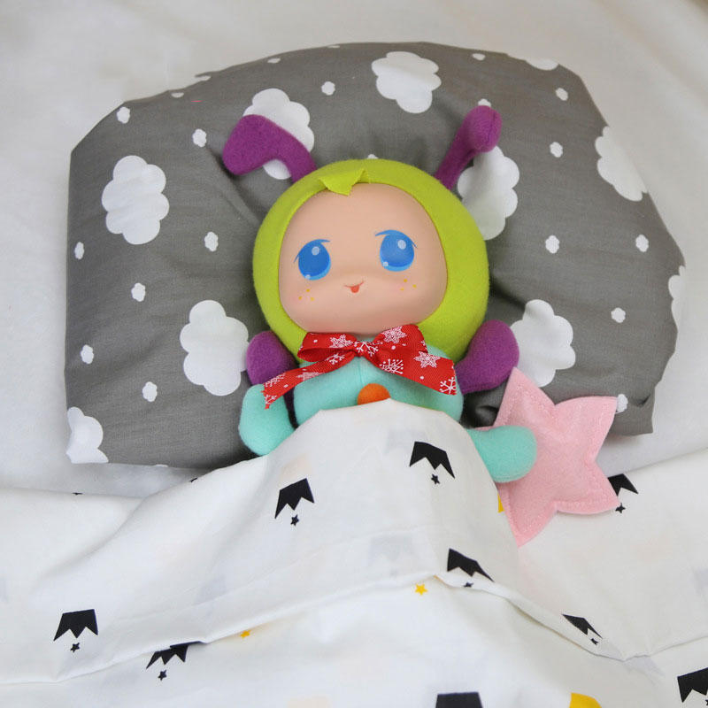 Caterpillar Stuffed Bedtime Playmate Short Plush Toy Gift Decor Collection - 6