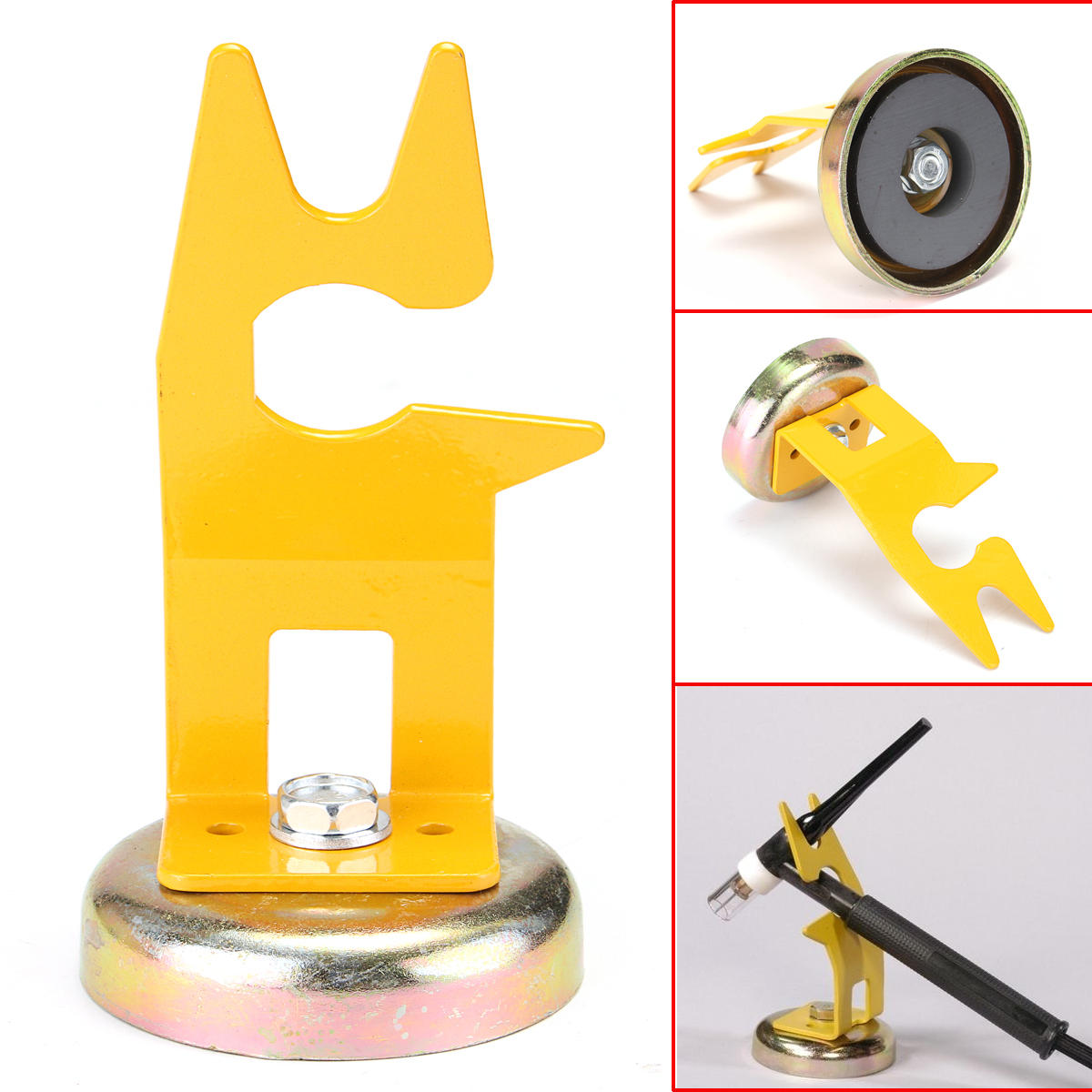 Tig Welding Torch Magnetic Stand Holder Support For Holding Hot Tig Torches Cup Sale Banggood Com