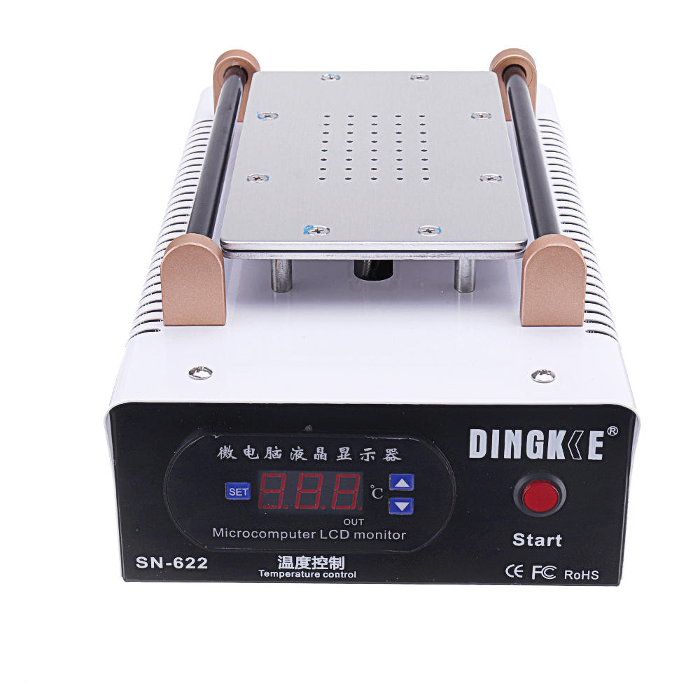 SN-622 220V LCD Screen Separator Heating Platform Plate Glass Removal Phone Repair Machine Auto Heat Smooth Plate - 2