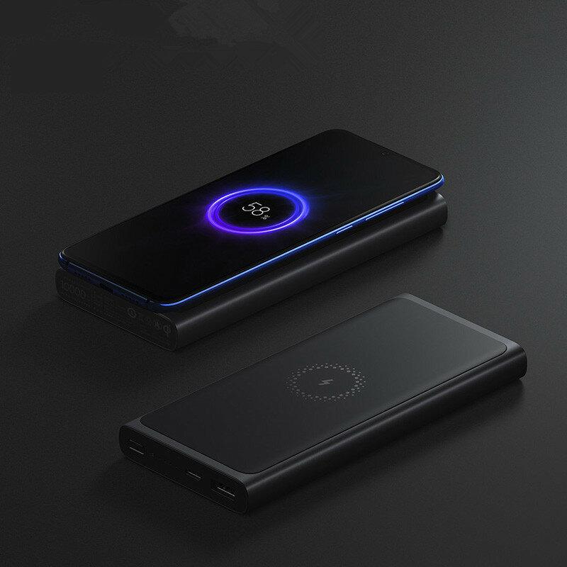 Xiaomi PLM11ZM Power Bank 10000mAh Wireless Charger
